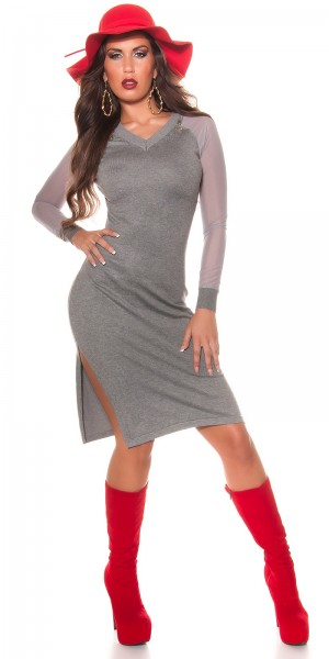 Sexy Koucla Kleid mit Reißverschlüssen