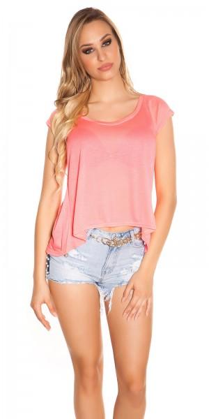 Trendy KouCla High Low shirt