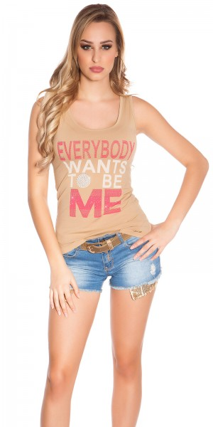 """Sexy KouCla Top """"Everybody wants to be me"""""""