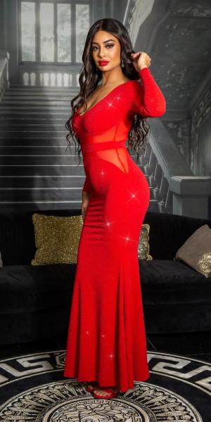 Sexy Koucla Red Carpet Abendkleid mit Mesh