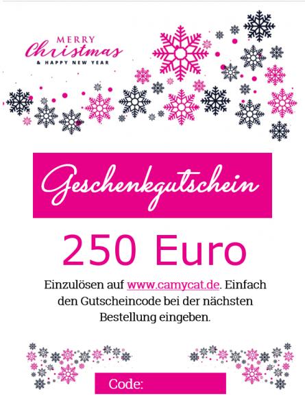 250 EUR Geschenkutschein