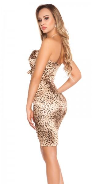 Sexy - Cocktail-Kleid mit Strass-Schnalle