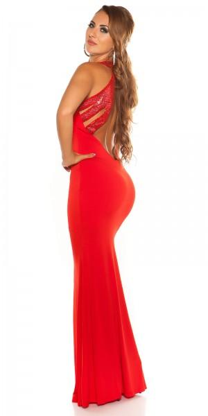 Red Carpet Look! Sexy KouCla Kleid mit Pailletten