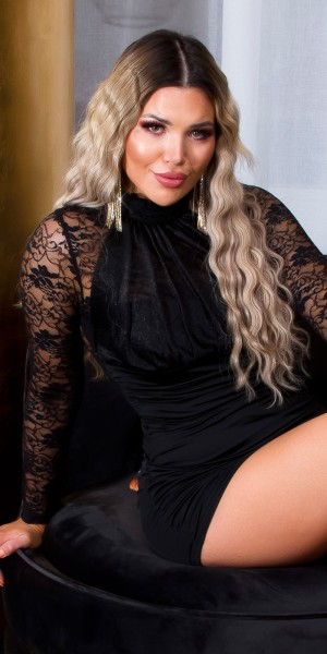 Sexy Koucla Mini-Party-Kleid mit Spitze