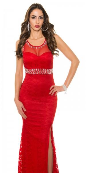 Red-Carpet-Look! Sexy Koucla Abendkleid mit Spitze